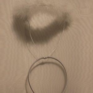 White Halo Headband